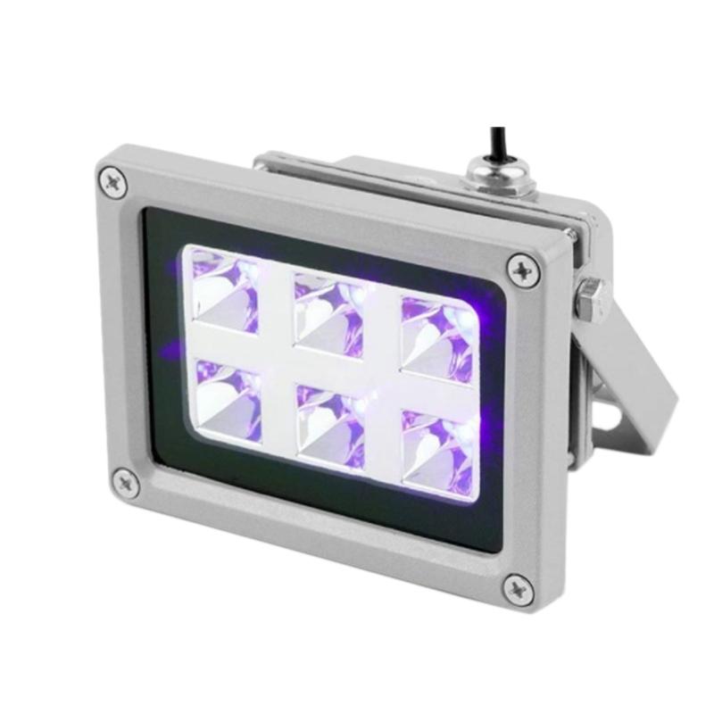 85-260V 405Nm Uv Led Curing Light Lamp Resin for Sla Dlp 3D Printer US Plug