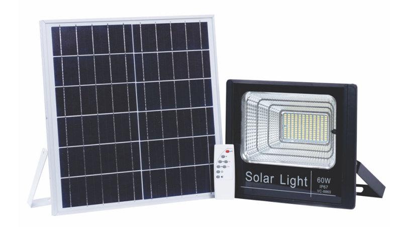 Đèn LED Năng lượng mặt trời 60W - Solar LSLL60