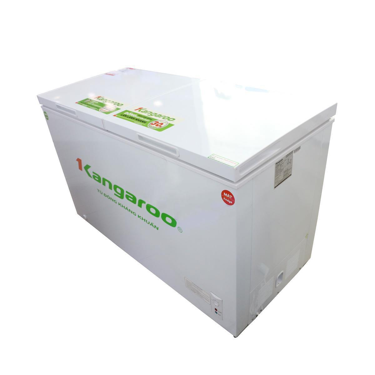 Tủ đông kháng khuẩn Kangaroo KG488C2 488L 2 ngăn, 2 cánh