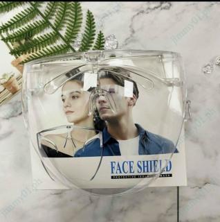 Mắt kính bảo hộ FACE SHIELD MASK chống giọt bắn, chống bụi che hết khuôn mặt bảo vệ mắt toàn diện tròng trong suốt thumbnail