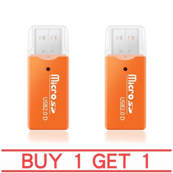 Bảng giá Mua 1 tặng 1 Đầu đọc thẻ nhớ tiện lợi cho thẻ nhớ Micro SDHC(trái cam) Phong Vũ
