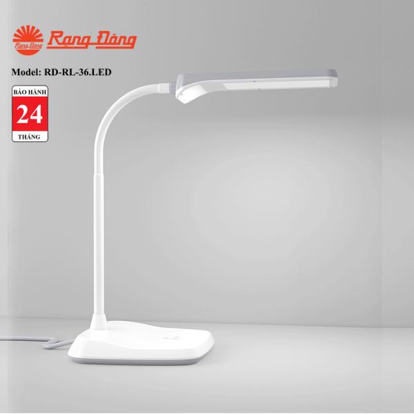 Bảng giá Đèn bàn LED cảm ứng Rạng Đông RD-RL-36.LED - chip LEDSamsung có hiệu suất sáng cao, ánh sáng không nhấp nháy, bảo vệ thị lực