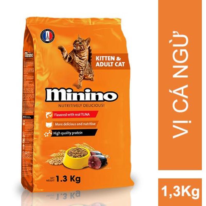 Thức ăn cho mèo Minino Tuna Flavored 1.3kg