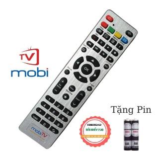 Điều khiển mobiTV loại tốt zin theo máy - Tặng kèm pin chính hãng - Remote MobiTV - Remote đầu thu MobiTV loại tốt thay thế khiển zin theo máy thumbnail