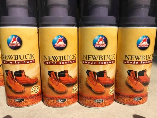 Một chai xi đánh giày da lộn sản xuất tại Malaysia - làm mềm, làm mới da lộn và da buck (màu nâu và đen) giá rẻ