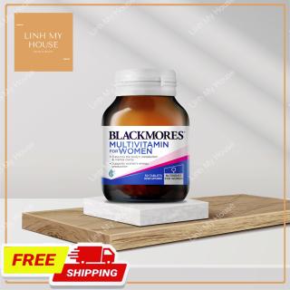 Viên uống Vitamin tổng hợp cho phái đẹp Blackmores Multivitamin For Women 50 viên thumbnail