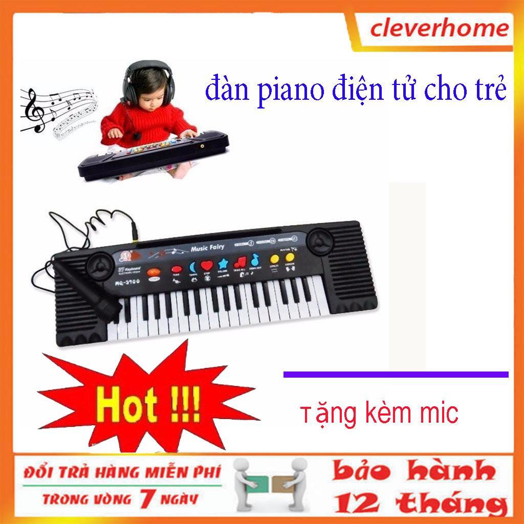 Đàn piano điện tử 27 phím cho bé,cho bé học hỏi thỏa sức đam mê sáng tạo và tặng kèm mic