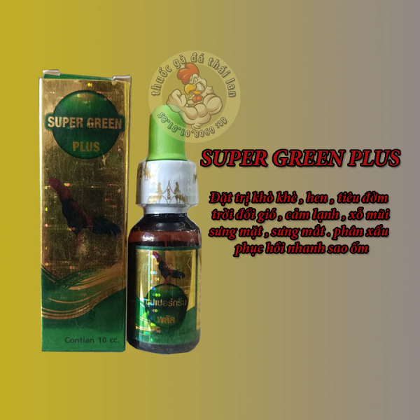 super green plus -  khò khè - xỗ mũi