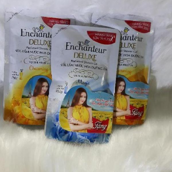 Bộ 3 túi Sữa Tắm Enchenter 200g ( 600g)