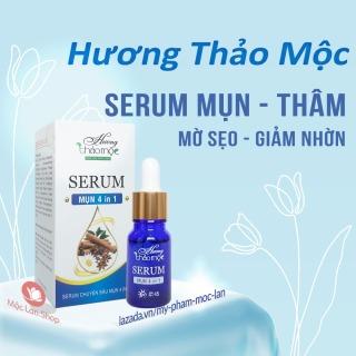 Serum mụn thâm 4 in 1- Serum Hương Thảo Mộc 10ml - Mỹ phẩm Mộc Lan thumbnail