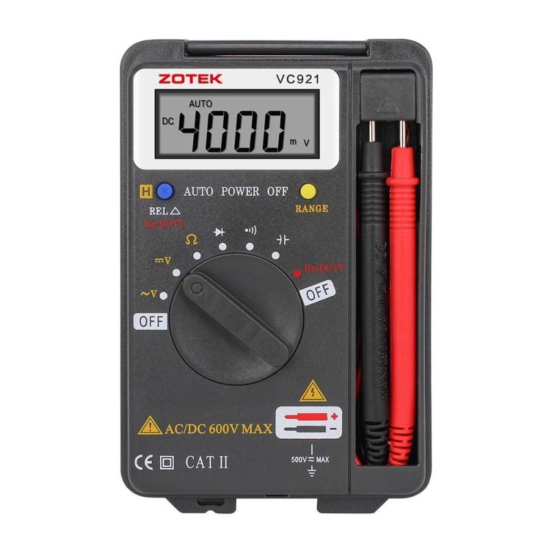 Đồng hồ vạn năng bỏ túi ZOTEK VC921 - Bảo hành 12 tháng