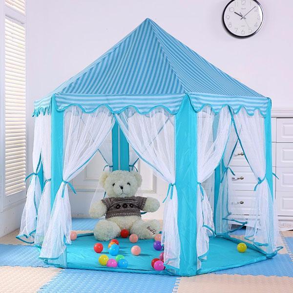 Lều Cho Bé/ Lều Cắm Trại/ Lều Công Chúa/ Lều Lục Giác Phong Cách Hàn Quốc Giảm Giá Khủng