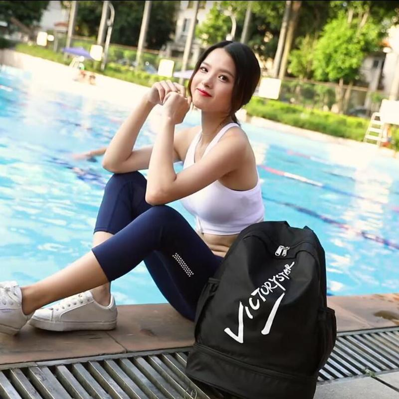 Swimming Gym Bag Wet And Dry Separation Men And Women Shoulders Light Waterproof Sports Equipment Beach Backpack Bathing Suit Storage Bag