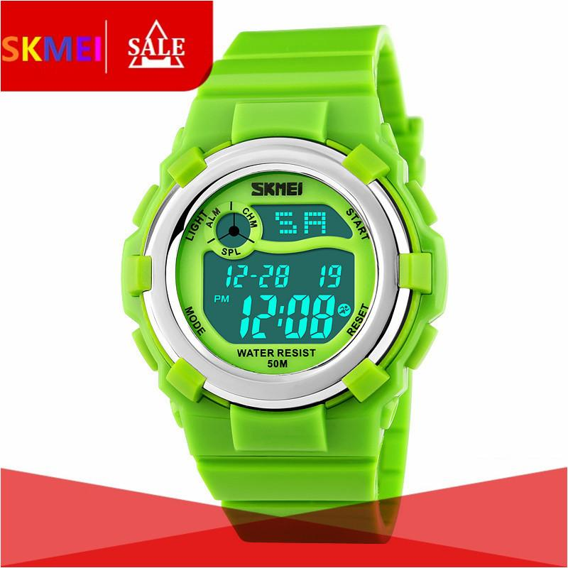 SKMEI 1161 2017 New Brand SKMEI Children Watch LED Digital Watches For Boys&Girls Alarm Stopwatch Waterproof Clock Kids Watches - intl bán chạy