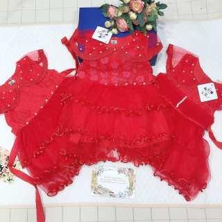Đầm váy bé gái, váy công chúa bé gái, váy ren bé gái từ 6kg đến 15kg (nhiều màu)
