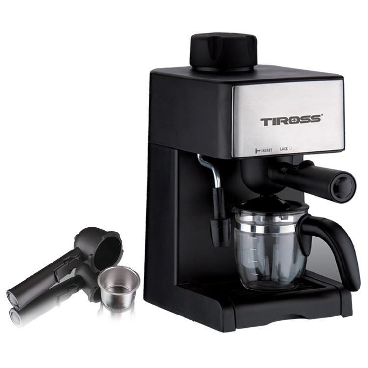 Máy pha cà phê Espresso Tiross TS621 (Đen)