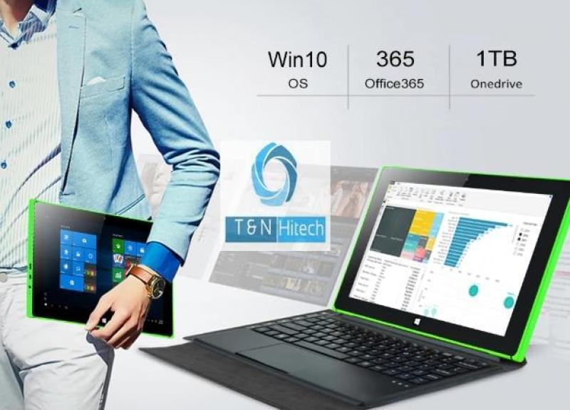 Máy tính bảng 2 trong 1 Windows 10 bản quyền + Android 7.1 2GB RAM 32GB chip Intel lõi tứ 1.92GHz giá rẻ - iRulu Walknbook - Tặng kèm bao da bàn phím Touchpad