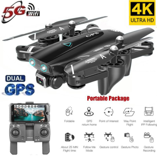 [ TOP FLYCAM HOT NHÂT 2021 ] Máy Bay Điều Khiển Từ Xa, Flycam Mini, Siêu Phẩm Flycam 4K Wifi GPS S167 Cao Cấp, Quay Phim Chụp Ảnh, Chống Rung, Hình Ảnh Siêu Nét, Động Cơ Bền Bỉ, Tự Động Quay Về Khi Sắp Hết Pin. thumbnail