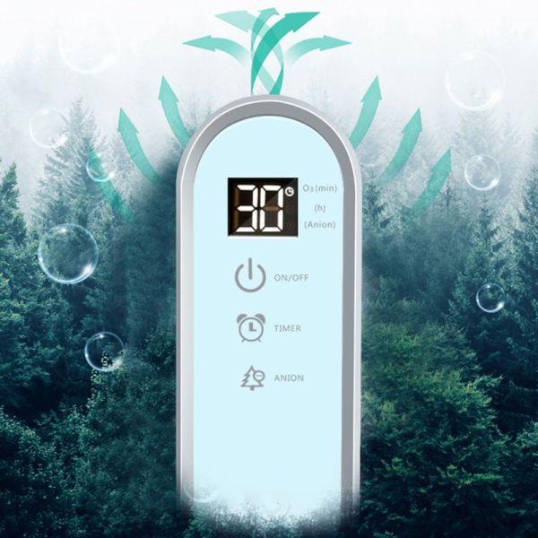 Máy lọc không khí ozone + ion âm DC5V AG07 Máy khử mùi Formaldehyde Nhà bếp Nhà vệ sinh ,mùi xe hơi , phòng nuôi thú cưng hiệu quả