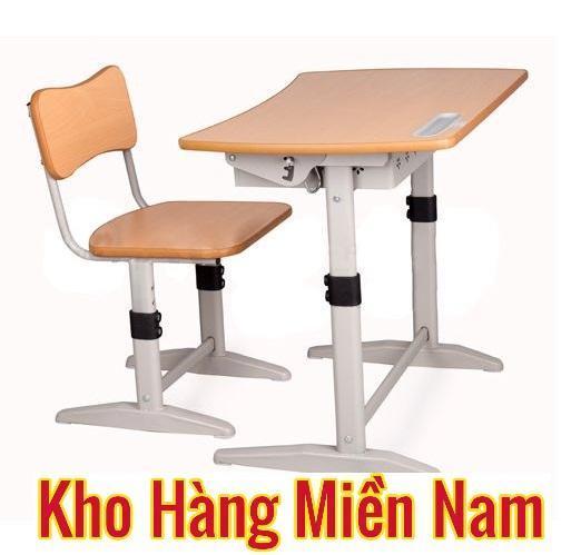 Bộ bàn học sinh cho bé cấp 1 cấp 2 cao cấp giá rẻ hãng Xuân Hòa BHS 14-06