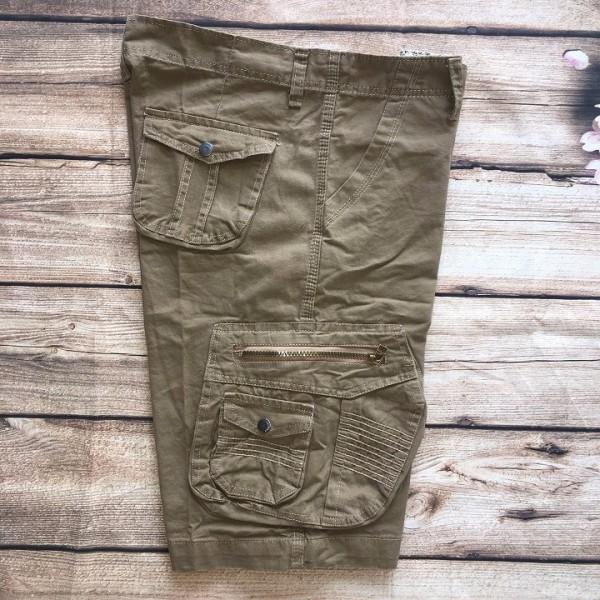 Quần short nam Kaki túi hộp Cao Cấp, Vải Đẹp (Kèm Video)