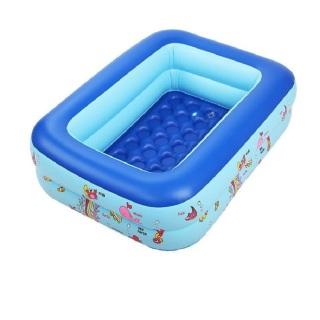 [TẶNG BƠM+KEO+VÁ] Bể Bơi Cho Bé 3 Tầng 1m5, có đáy chống trượt, chất dày dặn nhựa PVC, Bảo Vệ Sức khoẻ, An Toàn Cho Bé Yêu Nhà Bạn, được bảo hành bởi Vinemart thumbnail