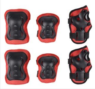 Đồ bảo hộ tay, đầu gối giày patin, ván trượt sử dụng cho các môn thể thao ngoài trời thi ch hơ p cho trẻ từ 4 đến 16 tuổi thumbnail