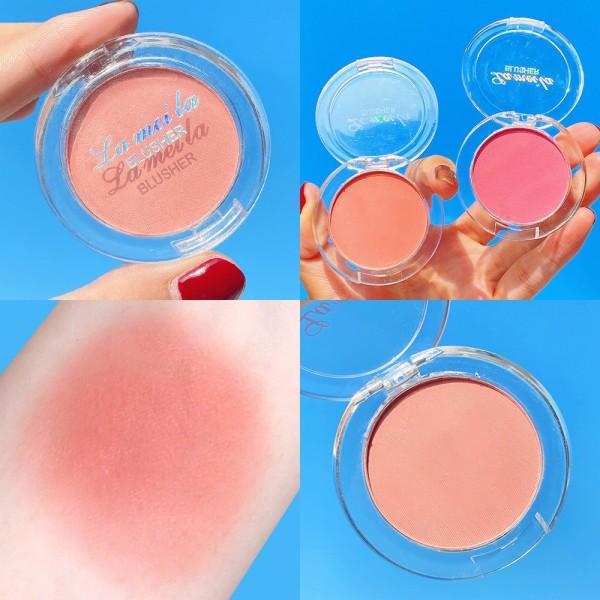 Phấn Má Hồng 1 Ô LẺ 3040 Lameila nội địa sỉ rẻ Blusher makeup powder nhập khẩu