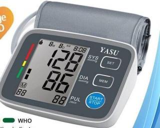Máy đo huyết áp điện tử bắp tay Yasu 80UEH thumbnail