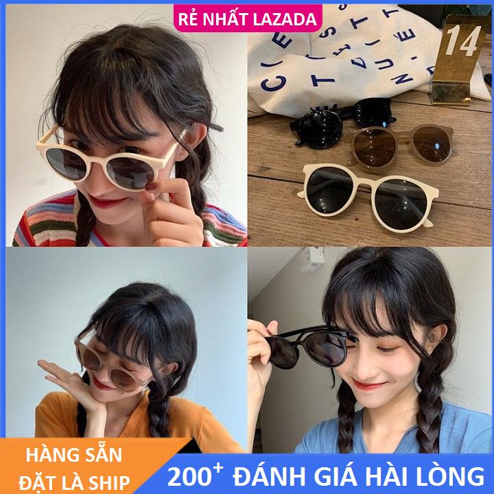 Giá Quá Tốt Để Có Kính Chữ V Nam Nữ Gọng Tròn Mắt Mèo Phong Cách Hàn Quốc Bảo Vệ Mắt Chống Tia UV đạt Tiêu Chuẩn ANSI Của Hoa Kì - Kính Thời Trang Unisex 4 Young Store 001