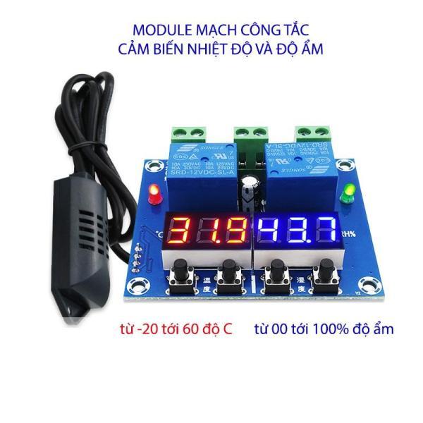 Module mạch công tắc cảm biến độ ẩm và nhiệt độ 2 trong 1 M452 với đầu cảm biến rời