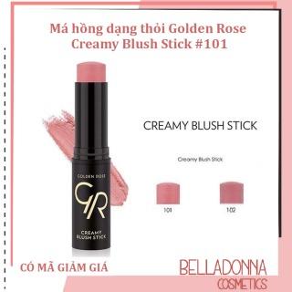 Má hồng dạng thỏi Golden Rose Creamy Blush Stick 102 thumbnail