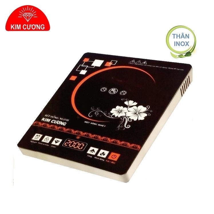 Bếp Hồng Ngoại Cảm Ứng Kim Cương YT-20D ( Thân Inox - 2000W )