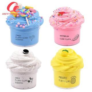 Always Lower Price 4x Đất Sét Mềm Nhẹ Plasticine 100Ml Fluffy Slime Kit DIY Đồ Chơi Giảm Căng Thẳng thumbnail
