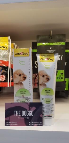 Gimdog Professional Line Derma Paste- Gel dinh dưỡng cho chó bị viêm da và các vấn đề về da, lông
