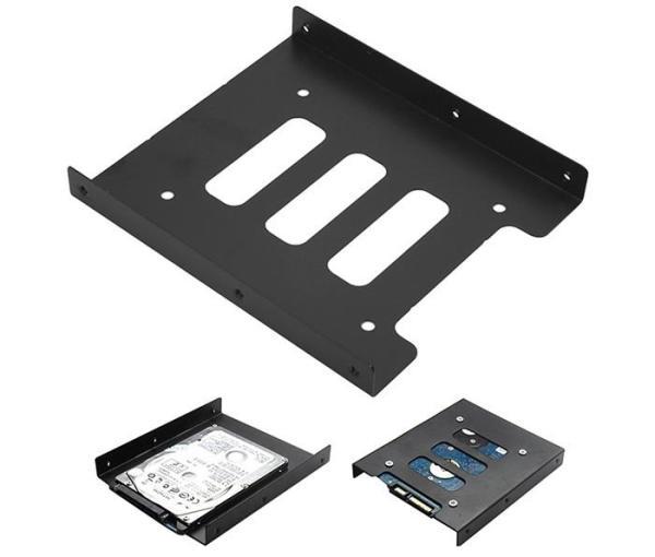 Bảng giá Khay chuyển SSD hoặc ổ cứng 2.5 sang 3.5 để bàn (kim loại) Phong Vũ