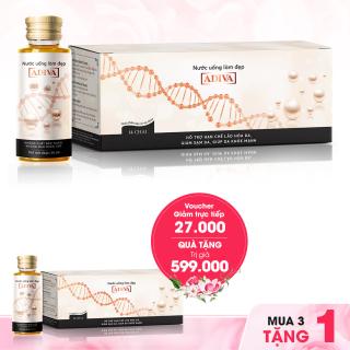 Combo 3 Nước uống làm đẹp Collagen ADIVA dạng nước (14 lọ x 30 ml) + Tặng 1 Collagen Adiva dạng nước (14 lọ x 30 ml) thumbnail