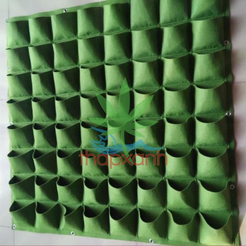 Túi trồng cây treo tường 64 túi (8 X 8)