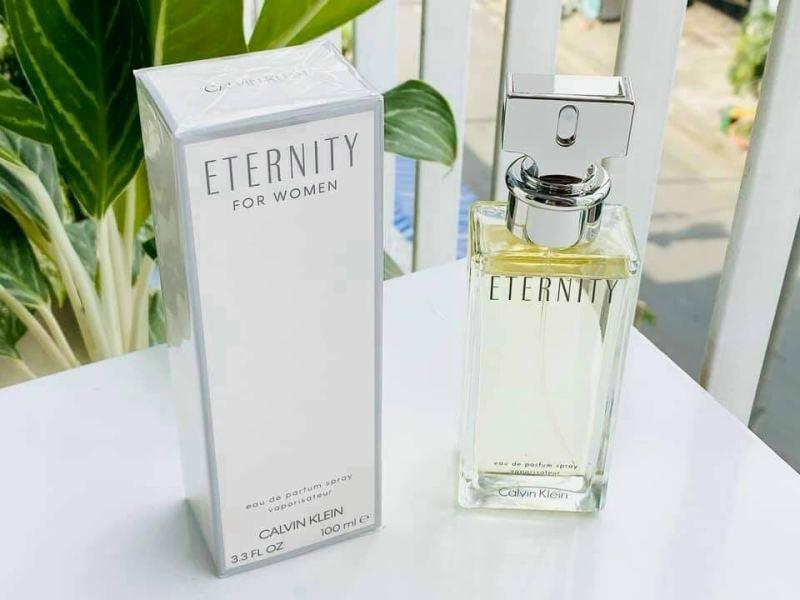 Nước Hoa Calvin Klein Eternity For Women Eau De Parfum 100ml
