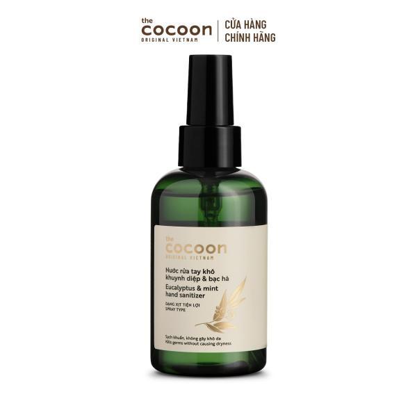 Nước rửa tay khô khuynh diệp và bạc hà Cocoon 140ml