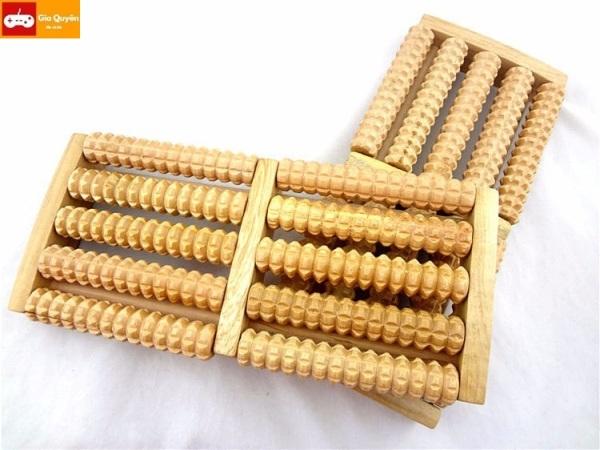 Bàn massage chân bằng gỗ cao cấp – Dụng cụ chăm sóc sức khoẻ chống mỏi, đau nhức, matxa chân lưu thông huyệt đạo