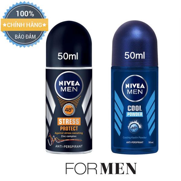 2 chai lăn khử mùi cho Nam NIVEA MEN - 50ml/chai cao cấp