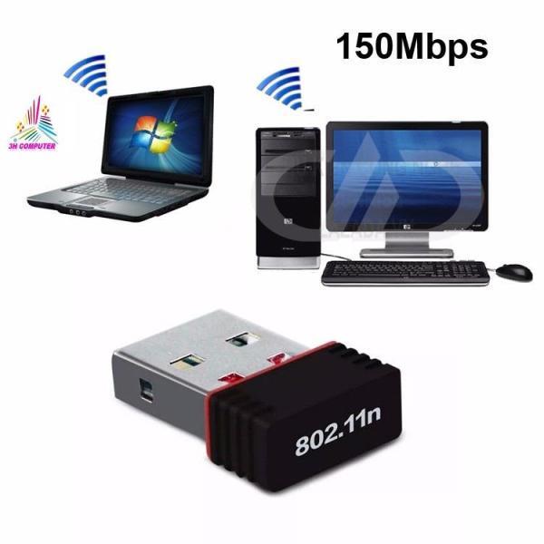 Bảng giá USB Thu Wifi cho Laptop Ussb thu sóng wifi cho máy tính PC NANO 802 Cung cấp tốc độ không dây lên đến 150Mbps Phong Vũ