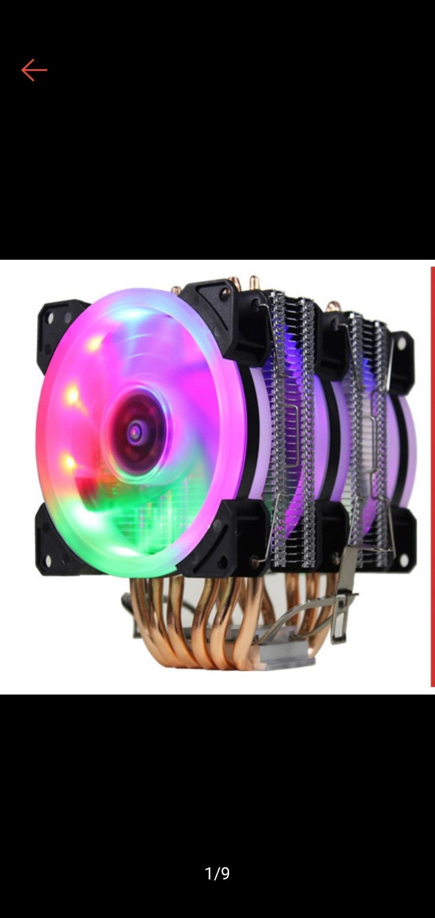 Giá Tản Nhiệt CPU Jonsbo 6 ống đồng, 2 tháp, 3 quạt, 9cm làm mát cực kỳ hiệu quả.