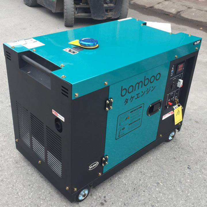Máy phát điện chạy bằng dầu Diesel 8KW 1 pha (chống ồn; có tủ ATS)