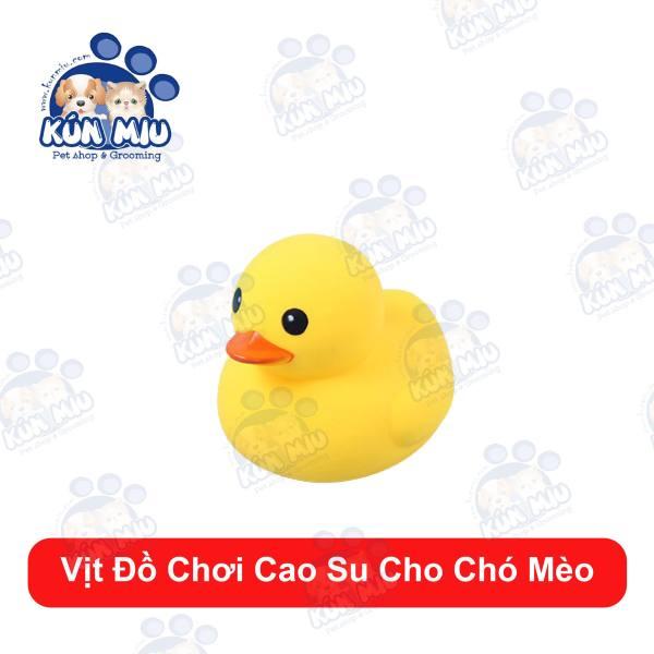 Vịt Đồ Chơi Cao Su Cho Chó Mèo size 5cm