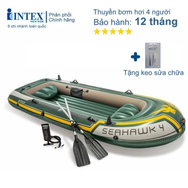 Thuyền bơm hơi Seahawk 4 người INTEX 68351 - Thuyền bơm hơi, Thuyền phao