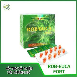 Viên uống hỗ trợ làm dịu cơn ho,đau họng,khàn tiếng - ROB EUCA FORT thumbnail