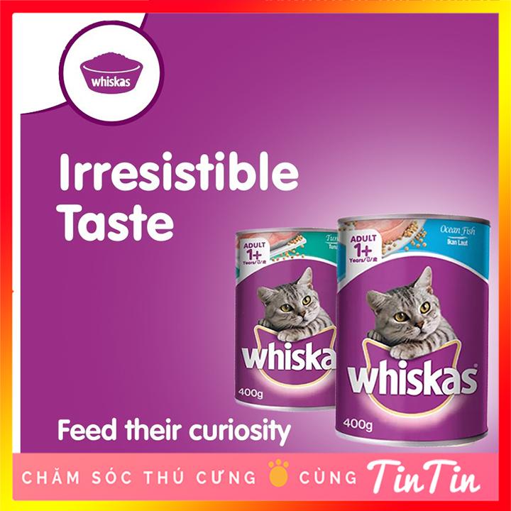 Pate Cho Mèo Lớn Whiskas Dạng Lon 400g Với Giá Sốc