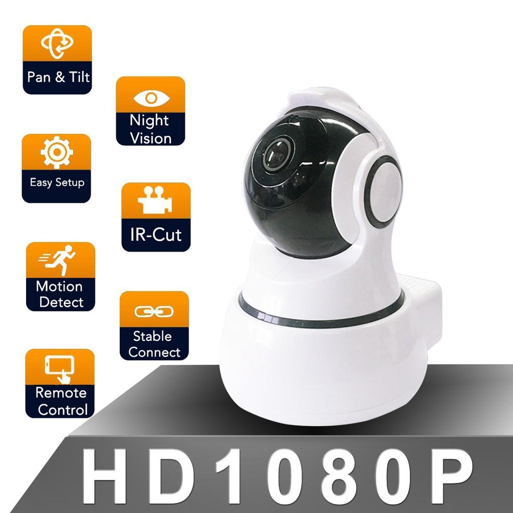 Camera Thông Minh-Indoor WiFi Camera-White Level: 350º; Vertical: 100º,w/ US Standard Adaptor And Cloud Storage Function Giá Cực Ngầu